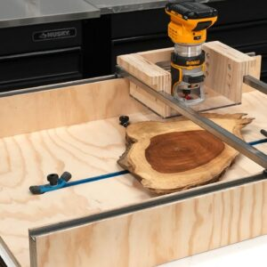 How to make a router sled (flattening mill)
