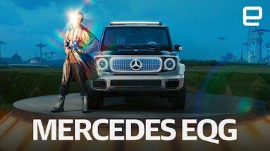 Mercedes-Benz EQG Electric Concept first look