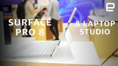 Microsoft Surface Pro 8 and Laptop Studio hands-on