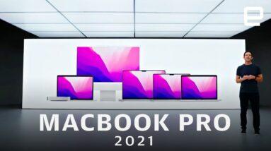 Apple's 2021 MacBook Pro event in under 8 minutes