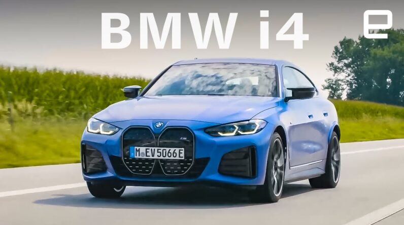 BMW i4 first drive