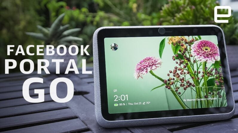 Facebook Portal Go review: Portable, but strictly for Facebook lovers