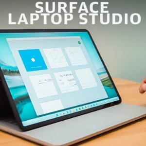 Surface Laptop Studio review: A better Surface Book--mostly